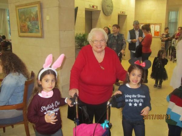 Purim Grandchildren March 2017 006
