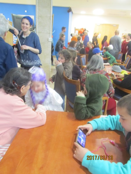 Purim Grandchildren March 2017 017