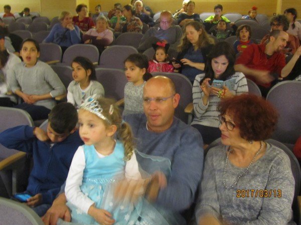 Purim Grandchildren March 2017 024